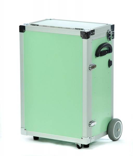 Fusspflegekoffer / Pedicure Trolley PodoMobile Maxi (green)