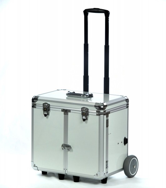 ♛ Fusspflegekoffer / Pedicure Trolley PodoMobile Midi (White PEARL)